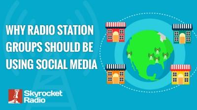 Radio Groups Social Media